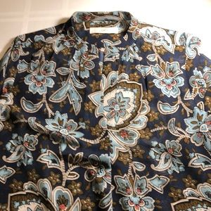Paisley / floral tunic